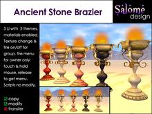 Ancient Stone Brazier