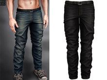 Mossu - Chase Jeans - Black