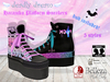 ::Deadly Dream:: ♥Harajuku♥ Platform sneakers (5 colour Fatpack)