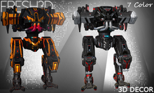 Fresh3D Scifi Mech Robots V2