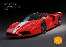Super car Red Horse F- Evolution