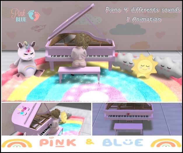 Toy Piano Pink  Baby-kids  Toddleedoo