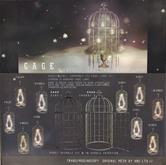 4){anc} cage. ornament {green}