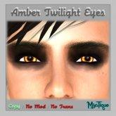 Amber Twilight Eyes
