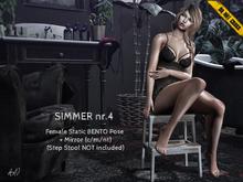 -DNC- Simmer nr.4 - Female Bento Pose