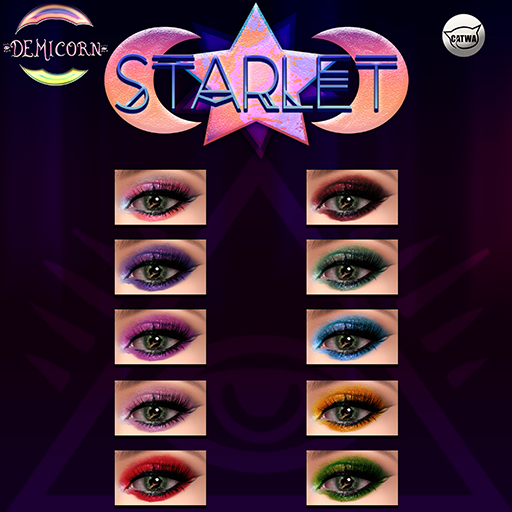 {Demicorn} Starlet Eyeshadow - Catwa FATPACK