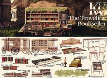 KraftWork The Traveling Bookseller . Bookseller Sign