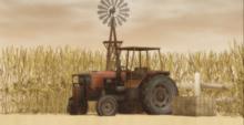 Lop Backdrop Wheat Field 2 (box)