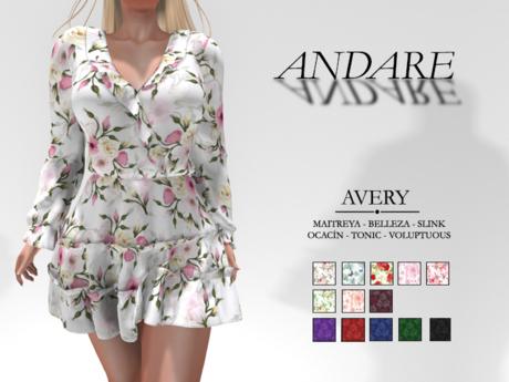 Andare - Avery Dress PACK