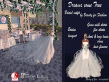 Bridal: Dreams come True - wedding outfit complete
