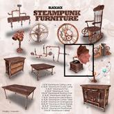 BJK* Steampunk Furniture Gramophone