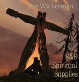 B&B The Wickerman (with on/off fire and animated pose)