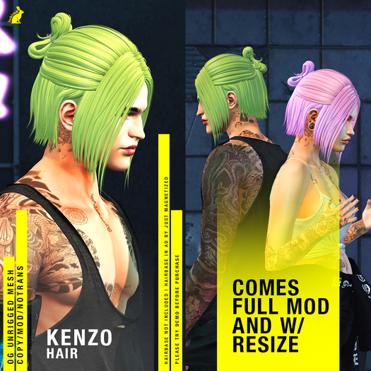 lock&tuft - kenzo fatpack