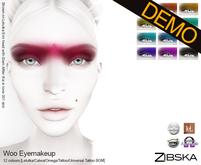Zibska ~ Woo Eyemakeup Demo [lelutka/catwa/omega/tattoo/universal tattoo BOM]