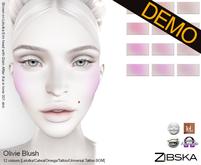 Zibska ~ Olivie Blush Demo [Lelutka/Catwa/Omega/tattoo/universal tattoo BOM layers]