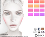 Zibska ~ Aoife Blush in 12 colors with Lelutka, Genus, LAQ, Catwa, Omega, Tattoo & Universal Tattoo BOM