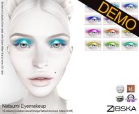Zibska ~ Natsumi Eyemakeup Demo [Lelutka/Catwa/Omega/tattoo/universal tattoo BOM]