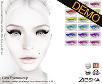 Zibska ~ Gina Eyemakeup Demo [Lelutka/Catwa/Omega/tattoo/universal tattoo BOM]