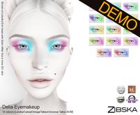 Zibska ~ Delia Eyemakeup Demo [lelutka/catwa/omega/tattoo/universal tattoo BOM]