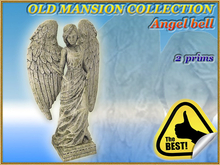 OLD MANSION COLLECTION Angel bell (2 prims) (Full perm)
