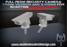 Full perm Security camera + Maps! for builders 1 prim version and 3 prims for scripting!