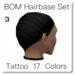 Blackburns BOM Hairbase Set 17 Tattoo Colors