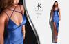 [KR] DIVYA DRESS -BLUE-  (wear)