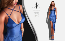 [KR] DIVYA DRESS -BLUE-  (wear)