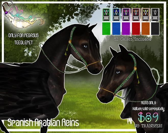 Spanish Arabian Reins - Pegasus