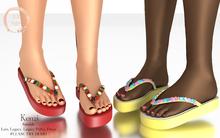 NaaNaa's Kenzi Sandals  Fatpack [Wear Me]