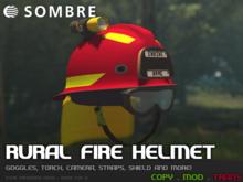 Sombre Rural Fire Helmet