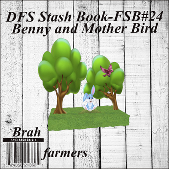 DFS Stash Book - FSB#24 - Benny and Mother Bird