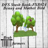 DFS Stash Book - FSB#24 - Benny and Mother Bird