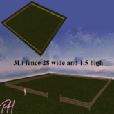 .::PH:. 3 Li fence - w28 x h1.5