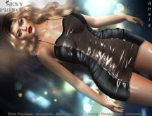 [Sexy Princess] Anais Dress Black