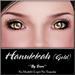 ~*By Snow*~ Hanukkah Eyes (Gold)