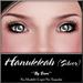 ~*By Snow*~ Hanukkah Eyes (Silver)