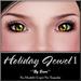 ~*By Snow*~ Holiday Jewel Eyes I