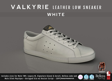 {COLD-ASH} Mens MESH VALKYRIE SNEAKERS (White)