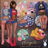 *B.D.R.* Margarita (The Bunny Hop 2 Hunt box 2020) / All prizes included.