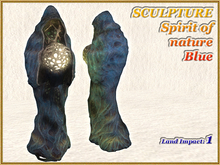 SCULPTURE - Spirit of nature - Blue (1 LI) (Full perm)