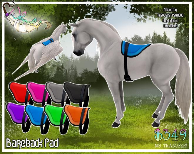 Bareback Pad - TeeglePet Pegasus
