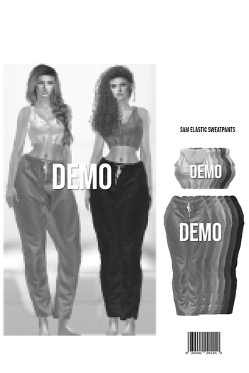 Sam Crop Tanktop & Elastic Sweatpants (DEMO)