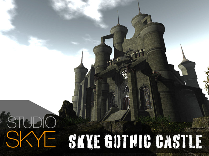 +NEW+ Skye Gothic Castle 2020
