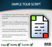 MBC - Simple Tour Script