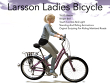Larsson Ladies Bicycle For Mainland Adventures!