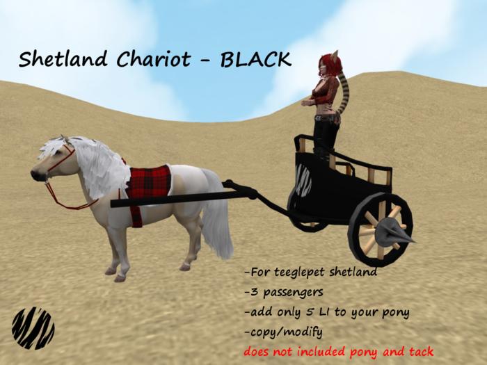 Shetland Chariot-BLACK