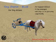 Tiny Chariot-BLUE(boxe)