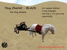Tiny Chariot-BLACK(boxe)