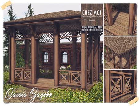 Cassis Gazebo ♥ CHEZ MOI
